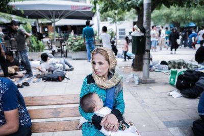 A Day In The Life Of Afghan Refugees In Athens' Victoria ...