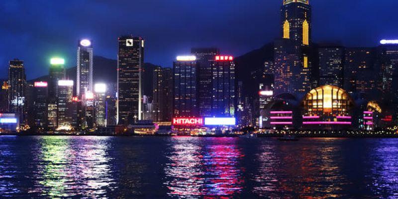 香港四天三夜  Forever21+維多亞港的燈光秀和星光大道
