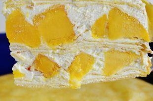 受保護的文章:樂天芒果季(三)│宅配芒果甜點,塔吉特千層蛋糕