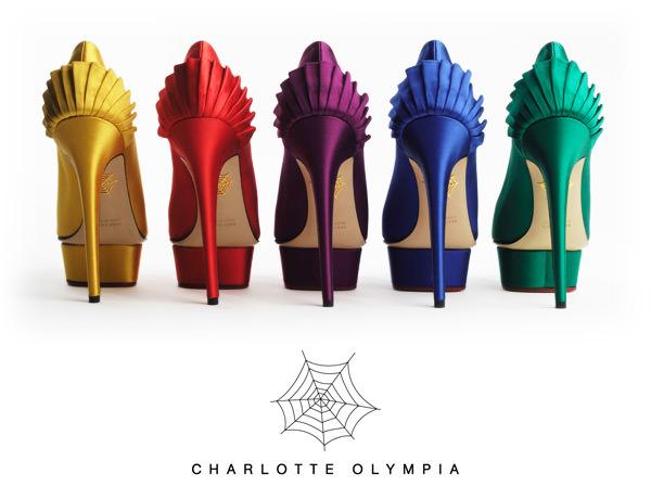 Charlotte Olympia Paloma Pumps Womens Yellow Pumps_4