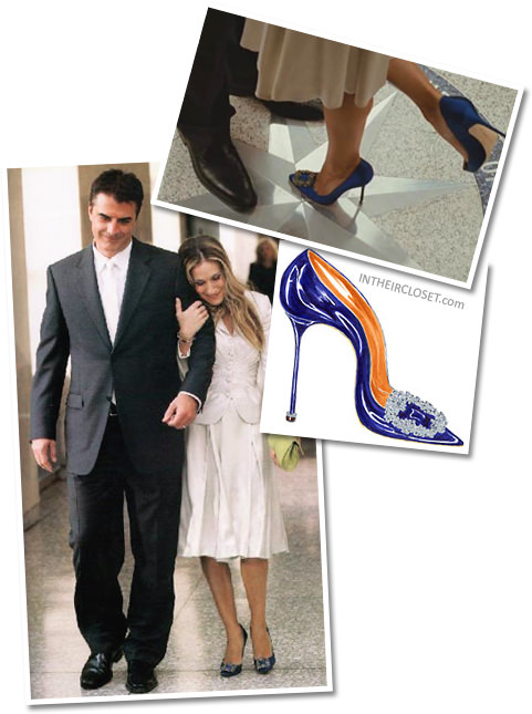 carrie-bradshaw-sex-and-the-city-movie-manolo-blahnik-something-blue-pumps