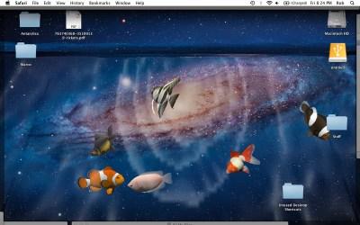 Desktop Aquarium 3D LIVE Wallpaper & ScreenSaver Mac Informer: Screenshots