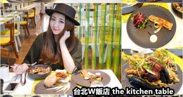 【台北信義】台北W飯店the kitchen table 西餐廳推出「繽紛玩色‧活力享瘦」歡樂節慶半自助式下午茶