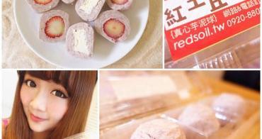 【宅配美食】紅土丘陵 真心芋泥球~限定草莓口味 真材實料超新鮮!另有乳酪.奇異果.綜合口味