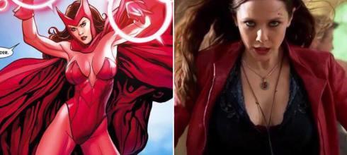 「《復仇者聯盟3》為什麼只有她露乳溝?」緋紅女巫揭開造型真相,坦言真的不喜歡! - 我們用電影寫日記