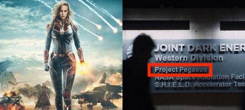 「《驚奇隊長》P.E.G.A.S.U.S計劃是什麼?」將掌握《復仇者聯盟4》的結局走向!-我們用電影寫日記