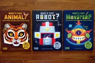 超吸引眼球What's That Face?|DIY面具遊戲貼紙書|機器人、動物、怪獸3主題
