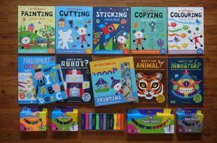 同大爺的美術用品大集合|美勞遊戲書們及水彩棒全分享
