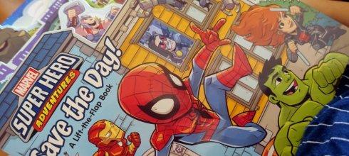同大爺愛慘|Super Hero Adventures: Save the Day!漫威超級英雄硬頁翻翻書