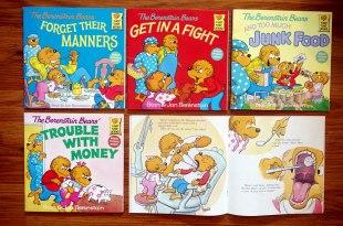 美國小學指定閱讀The Berenstain Bears 孩子的生活經驗繪本