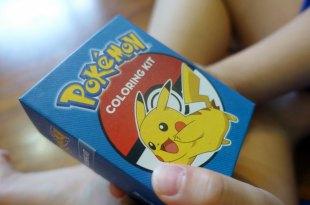 跟流行!打發時間太好用Pokemon Coloring Kit 寶可夢畫畫組