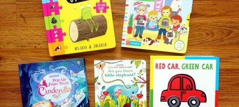 [親子共讀]適合1-3歲以上的硬頁書們|久違的Oi Frog! 四方格拼圖書