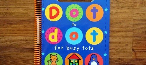 Dot to dot for busy tots忙碌的點點連連遊戲書