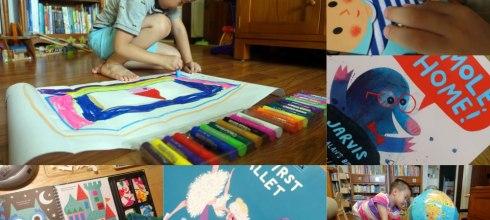 2017好書重溫團:硬頁書|美術畫冊|操作書|貼紙書|繪本|英國Little Brian水彩棒