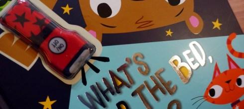 自己睡和怕黑小人書單|What's Under The Bed, Ted好玩的真相手電筒