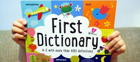 少見又實用的第一本幼兒英文字典 First Dictionary