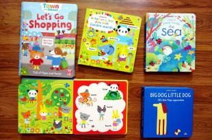 主題硬頁書(2)|基礎書單:Let's Go Shopping|手指遊戲書,洞洞操作書,相反詞