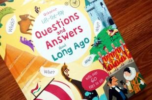 數不清是我們的第幾本「為什麼翻翻書」:Lift the Flap Q and A About Long Ago好久以前