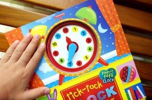 實用又好玩的滴答滴答時鐘書 tick-tock Clock Book 立體指針好吸晴