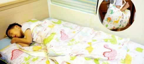 用了一年才決定分享 韓國手工純綿WOW兒童四季睡袋,幼稚園用到國小沒問題