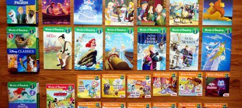 [親子共讀] 適合小小孩的英語橋樑書們 第二回:迪士尼電影/公主/Disney Junior