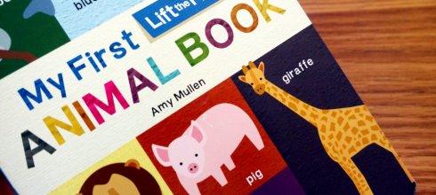 適合2y以上:我的動物微百科翻翻書|My First Lift-the-Flap Animal Book|超過100種動物