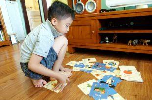 可愛小老鼠字母52張閃卡|Little Mouse's Alphabet Flash Cards|字母遊戲和故事接龍