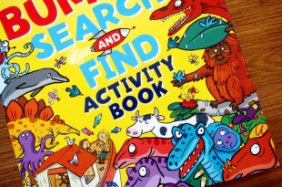 完全建立專注力的超級找找著色書|The Bumper Search & Find Activity Book