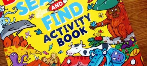 完全建立專注力的超級找找著色書 The Bumper Search & Find Activity Book