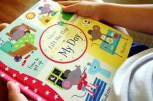 超過75個翻翻小機關|Lift-the-Flap My Day|小小孩的第1本生活順序操作書