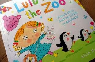 男女寶都愛Lulu,孩子界的最萌小妹|Lulu at the Zoo翻翻操作書
