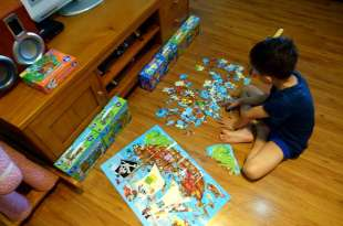 [專注力] 引導孩子專心拼圖的小秘訣(經驗分享) 英國Orchard Toys厚紙拼圖大集合
