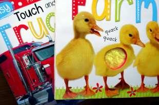 孩子的初階自然科學音效書 Noisy Touch and Lift Farm 也有工程車大集合