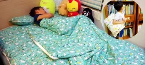 我們家用了2年的韓國WOW攜帶床睡組|是睡袋,床組,遊戲墊|從幼稚園用到國小沒問題