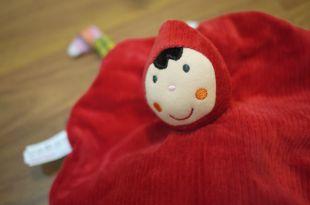[寶貝好物]ebulobo.1步2步.法國創意玩具之大野狼與小紅帽安撫巾
