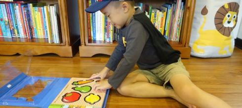 引導「選擇性專注力」:同大爺的拼圖書遊戲盒 ●Let's Pretend Play Shop●