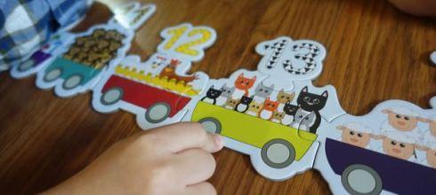 [北歐丹麥Barbo Toys] 200公分好長●123 Train地板拼圖●還有嚕嚕米大尺寸拼圖