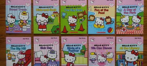 [5顆星推薦] 適合小小孩的常用單字CD書 ●Hello Kitty Sight Words ●