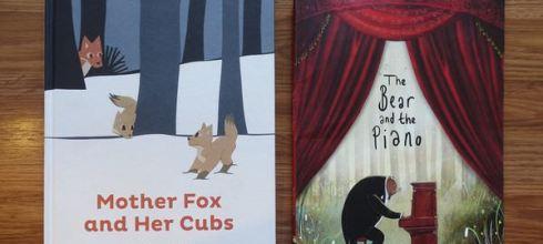 第二眼故事繪本●Mother fox and her cubs●還有The Bear and the Piano(推)