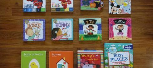 [親子共讀] 適合0到5歲以上 ●13本硬頁操作書大集合 ● (上篇)