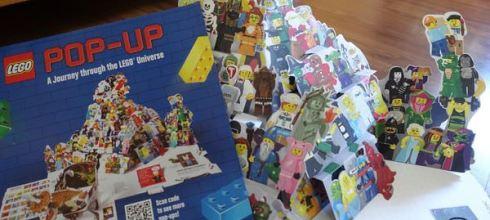 好愛!不能錯過它 ●LEGO POP-UP樂高立體書●大人小孩都驚艷