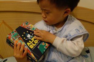 [2y4m]同大爺的工具書●AlphaBlock字母造型書和幼兒百科翻翻書●