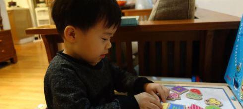 [同大爺私物] CP值太高●InnovativeKids磁鐵拼圖●從1歲玩到3歲都沒問題