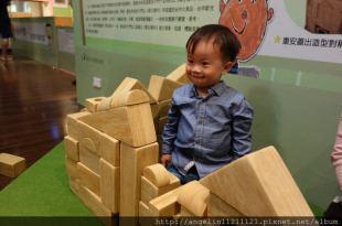 [台中.親子] 和傳說中一樣好玩的●國美館兒童遊戲室●(2y2m)