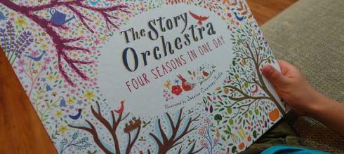 管弦悠揚音效書~韋瓦第四季●The Story Orchestra: Four Seasons in One Day●