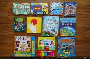 適合6m-5y以上的11本硬頁書●汽車書●音效書,玩具書,自然科學,經典童話翻翻書