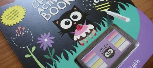 小小孩的可重覆擦寫書單●Milo's Chalk Activity Book黑板書●還有ArtyMouse