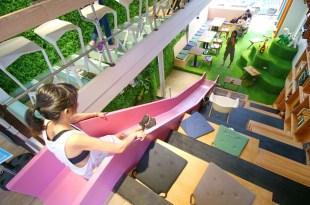 ♫悠呼~咖啡廳裡溜滑梯,OROMO Cafe_奧蘿茉北車店,各樓層完整介紹