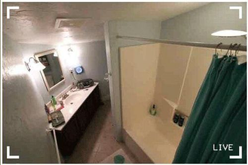 an image of hidden%20camera Hidden camera in the bathroom