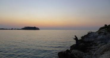[土耳其遊誌]Kuşadası:鴿子島日落.Sunset of Aegean coast and Güvercin Ada
